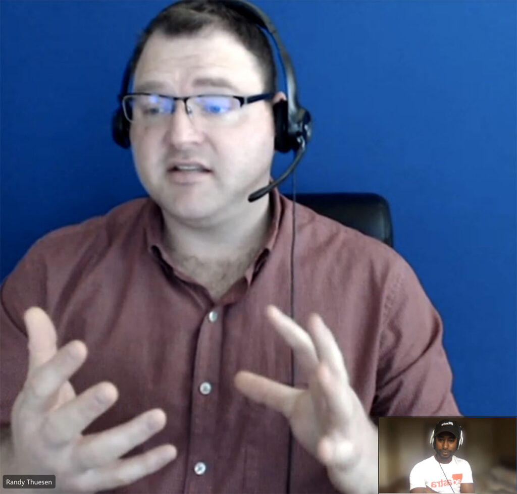 ASL trainer Randy tells us how to become an effective ASL Interpreter